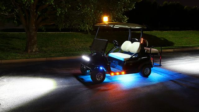 Led Golf Cart Light 2 Square 10w Led Golf Cart Lights