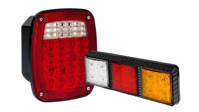 LED Box Tail Lamps