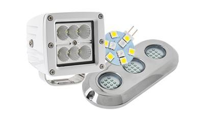 LED Boat Lights and Marine LED Lights