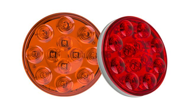 LED Round Tail Lamps