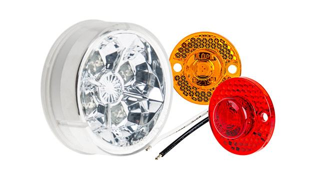 LED Round Marker Lamps
