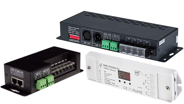 DMX Controllers/Decoders