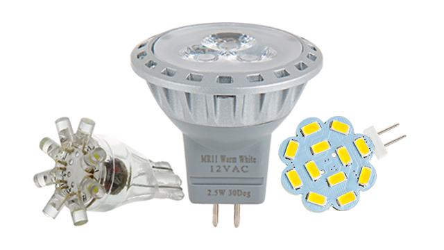 Bi-Pin LED Bulbs