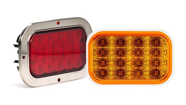 LED Rectangular Tail Lamps