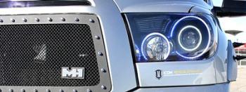 LED Angel Eye and Headlight Accent Light