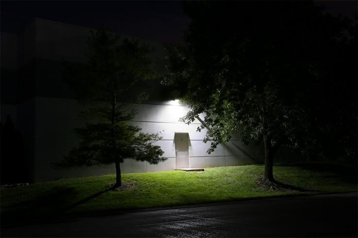 70w Full Cutoff Led Wall Pack With Photocell 8 000