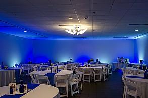 Wedding Blue LED wall washing flood light
