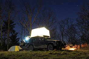LED tent camping light