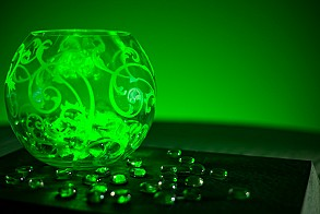green led decorative light