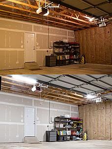 garage shed led lighting super bright leds. Black Bedroom Furniture Sets. Home Design Ideas