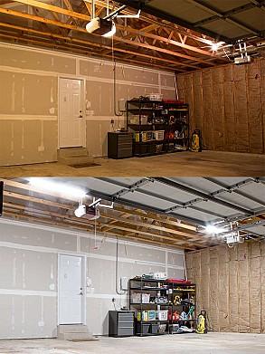Garage shed led lighting photo gallery super bright leds 50w led shop lightgarage light 4 long aloadofball Gallery