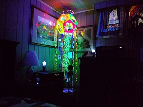 LED art project inspire