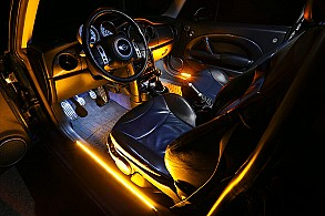 car interior led accent lighting photo gallery super bright leds. Black Bedroom Furniture Sets. Home Design Ideas