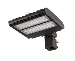 150W LED Parking Lot Light - 19,500 Lumens - 100-277V LED Shoebox Area Light - 400W Metal Halide Equivalent - 5000K/4000K/3000K
