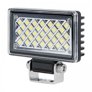 "3.5"" Rectangular 6 Watt LED Mini Auxiliary Flood Light"
