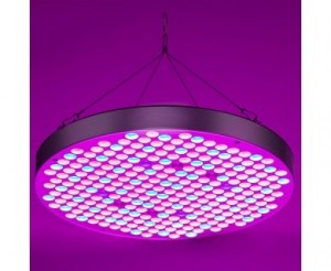 32W Full-Spectrum LED Grow Light - 4-Band Red/Blue/UV/IR for Indoor Plant Growth
