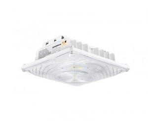 55W LED Canopy Light - 6,700 Lumens - Surface Mount - 175W Metal Halide Equivalent - 5000K/4000K/3000K
