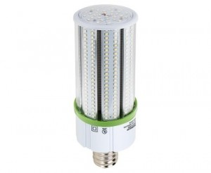 60W LED Corn Bulb - 7,600 Lumens - 175W Equivalent Metal Halide - E39 Mogul Base - 5000K