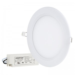 "8"" Round LED Panel Light - 190 Watt Equivalent - Dimmable"