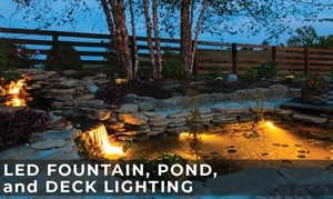 LED Fountain, Pond, and Dock Lighting