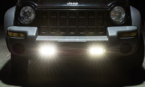 LED Daytime Running Light Set - Bottom Mount