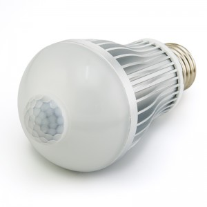 A19 Globe Bulb with Motion Sensor - 6 Watt LED