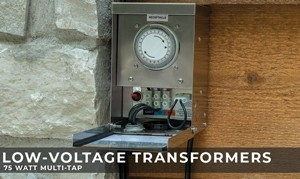 Low-Voltage Transformer - 75 Watt Multi-Tap
