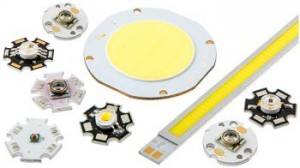 High Powered LEDs and COB LEDs