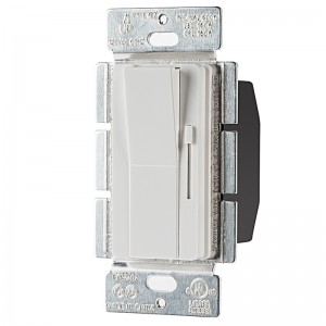 Single-Pole Switch and Slide LED Dimmer - 120V