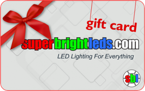 Not sure what LED gift to get? Give a Gift Card!