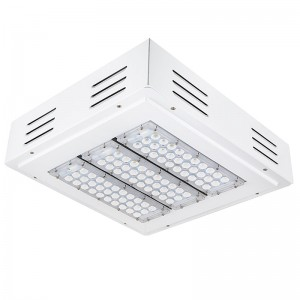 LED Canopy Lights - 150W - Square Beam - Flush Mount or Surface Mount
