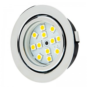 Recessed Light Fixture - 12 LED - 20 Watt Equivalent