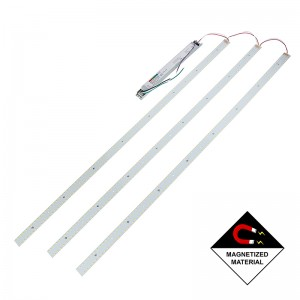 LED Magnetic Strip Troffer Retrofit Kit - 2x4 Troffer