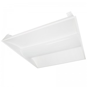 2' Square 36W Recessed LED Troffer Light w/ Center Basket