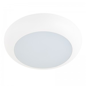 "7"" Flush Mount LED Ceiling Light - Dimmable LED Disk Light and Can Light Retrofit - 110 Watt Equivalent - 1,100 Lumens"
