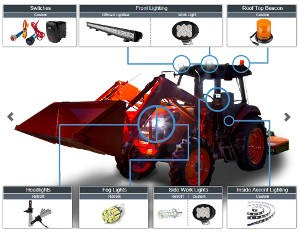 <br /><b>LED Tractor Application Guide</b>
