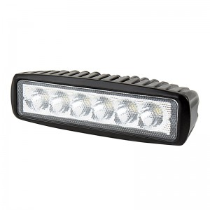 "LED Work Light - 6"" Rectangle - 17W"