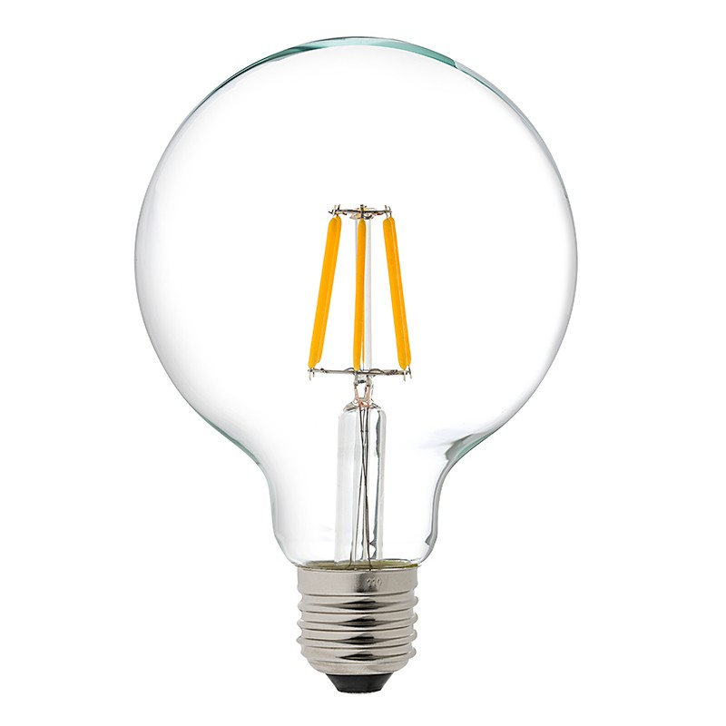 Vanity Light Bulb Wattage : G30 LED Vanity Bulb - Gold Tint LED Filament Bulb - 25 Watt Equivalent - Dimmable Vintage LED ...