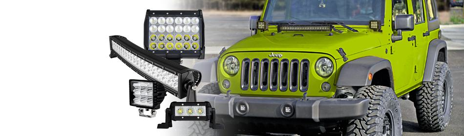 Heavy Duty LED<br>Off Road Light Bars